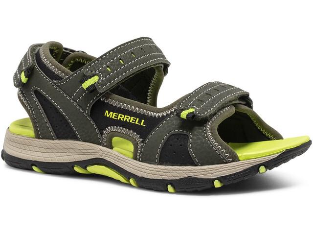 Merrell Panther 2.0 Sandals Kids, olive